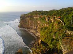 The cliffs of Uluwatu, Bali.