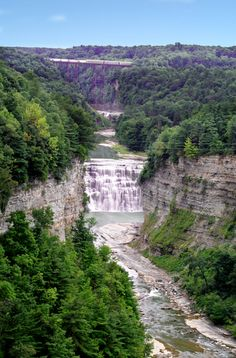 Letchworth State Park - The Grand Canyon of the East - Upstate New York.  Stunning views.