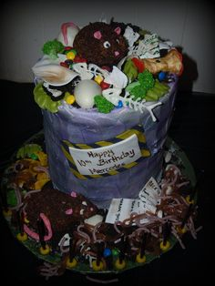 Fear factor / Garbage cake