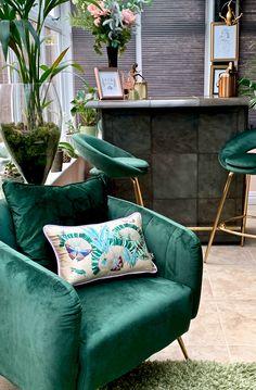 Maximalist Luxury Home Decor - Claire Elsworth Design - The Interior Editor Living Room Cushions, Cushions On Sofa, Jade Design, Luxury Home Decor, Luxury Homes, Maximalist Interior, Luxury Cushions, Home Trends, Shop Interiors
