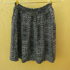 Tribal Flowy, Black/Creme Skirt So comfortable. Good condition. Worn no more than 3 times. No wear, no tear. Sized as XS but should fit a Small as well. . Skirts