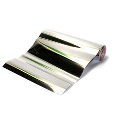 Mirror Effect Contact Paper.  Could use it to line the inside of shelves for a super glam look!