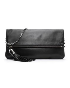 Michael Kors Tonne Fold-Over Clutch. $595