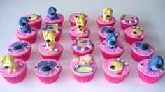 Woezel and Pip cupcakes