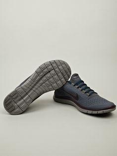 Nike Gyakusou Men's Free Run 3.0 Sneaker in blue / dark gray at oki-ni