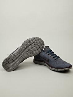 Nike Gyakusou Men's Free Run 3.0 Sneaker in blue / dark gray at oki-ni