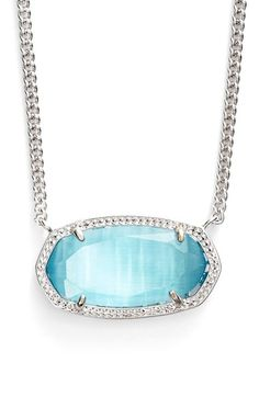 Free shipping and returns on Kendra Scott 'Dylan' Stone Pendant Necklace at Nordstrom.com. A finely etched setting complements the glossy stone centering this versatile pendant necklace.