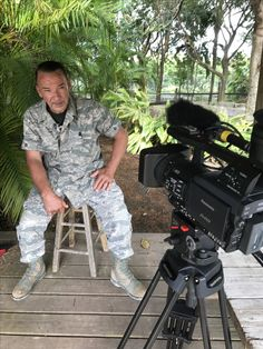 Interviewing world famous king cobra free handling expert Albert Killian in Homestead Florida. This man is truly fearless.   Scott Goodknight