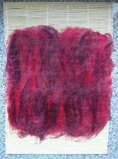 wet felting tutorial