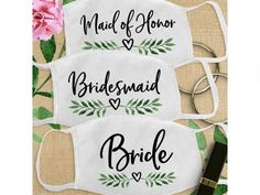 Wedding Face Masks For Your Big Day - The Wedding Fairy On Your Wedding Day, Wedding Blog, Party Face Masks, Heart Sketch, White Face Mask, Wedding Matches, Real Couples, Davids Bridal, Leaf Prints