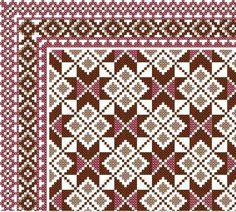 Gallery.ru / Φωτογραφία # 16 - Bebe - ergoxeiro Cross Stitch Borders, Cross Stitch Designs, Cross Stitching, Diy Embroidery, Cross Stitch Embroidery, Embroidery Patterns, Cross Stitch Cushion, Palestinian Embroidery, Needlepoint Pillows