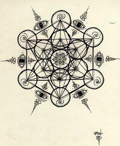 18 ideas tattoo geometric mandala sacred geometry fair trade for 2019 Sacred Geometry Symbols, Geometric Symbols, Sacred Geometry Tattoo, Geometric Tattoo Design, Geometric Mandala, Kundalini Tattoo, Body Art Tattoos, Sleeve Tattoos, Tattoo Ideas