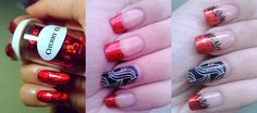 Nail Art For Beginners 2015: How To Do Transfer Foil Nail Art