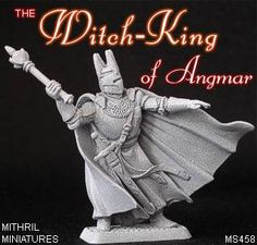 MS458 Lord of the Rings 'Witch-King™' Fellowship 32mm Scale Figure