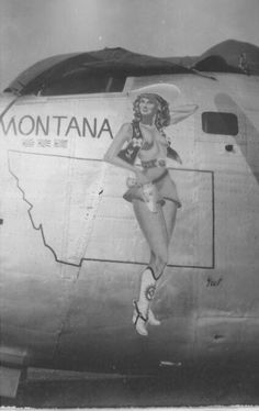 Collection of Aviation Pin Up and Nose Art copyrights belong to their respective owners. Nose Art, Military Art, Military History, Aircraft Painting, Airplane Art, Aviation Art, Military Aircraft, Ww2 Aircraft, Pin Up Art