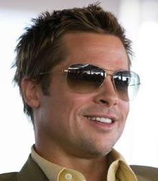71b61bb1b231d Oceans 11 Brad Pitt Sunglasses, Celebrity Sunglasses, Stylish Sunglasses,  Mens Sunglasses, Sunglasses