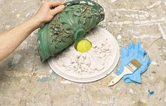 How to make custom molds to reproduce plaster period details throughout your home