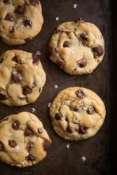 Gluten-Free Chocolate Chip Cookies {The BEST!} - no one even knew these were gluten free!