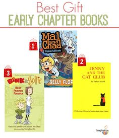 Great gift books for 6 & 7 year olds. (I always give at least one book for Christmas. Do you?)