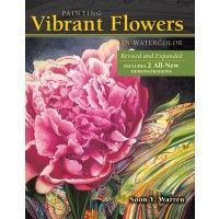 Learn to paint vibrant watercolor flowers with Soon Y. Warren | NorthLightShop.com