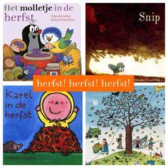 Het is herfst. Er zijn veel prentenboeken die over de herfst gaan. BoekStart tipt de leukste voor je herfsttafel in boekhandel, school of bibliotheek.