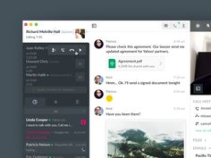 Remote concept - Skype for business.