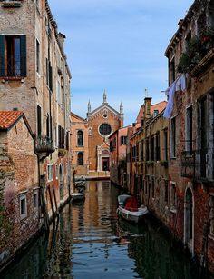 Venice : Chiesa Madona del Orto / Chiesa Madonna dell'Orto / Rio Ca'Brazzo