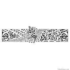 Bull Armband Tattoo Pe Polynesian Tattoos picture 1621