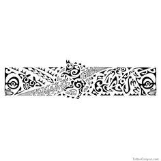 Bull Armband Tattoo Pe Polynesian Tattoos picture 1621