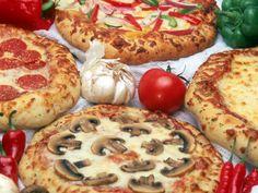 Assortment of Pizzas