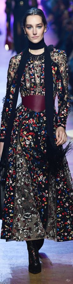 Fall 2018 RTW Elie Saab, pure sophistication needs some eclectic earrings like the  Duomo - Pearl Earrings