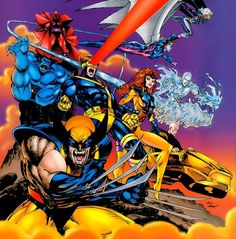 Uncanny X-Men by Andy Kubert