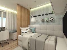 Projeto de dormitório para uma pequena Gremista, apaixonada por futebol ⚽️ Projeto autora