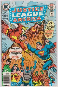 Justice League of America DC Comics #137 Vol1 FN+ 6.0
