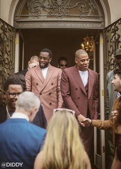 Diddy and JAY Z at Roc Nation's Grammy Brunch – DIDDY.COM