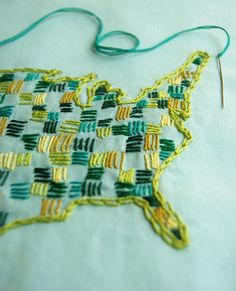 All sizes | embroidered map | Flickr - Photo Sharing!