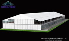 Double Decker | Event Tent | Sport Bleachers | 30*120m with glass wall+ABS