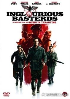 The new film from director Quentin Tarantino, Inglourious Basterds, begins in German-occupied France, where Soshanna Dreyfus (Melanie Laurent) witnesses the execution of her family at the hand of Nazi Colonel Hans Landa (Christoph Waltz). Streaming Movies, Hd Movies, Movies Online, Movies And Tv Shows, Movies To Watch, Movie Tv, Hd Streaming, Movies Free, Movie Theater