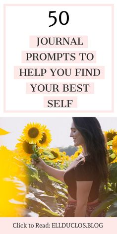 50 journal prompts to help you find your best self. Questions for personal devel… 50 journal prompts to help you find your best self. Questions for personal development and self discovery. Self Development, Personal Development, Take Care Of Yourself, Finding Yourself, Diy Beauty Projects, Journal Prompts, Journals, Motivational Words, Self Discovery