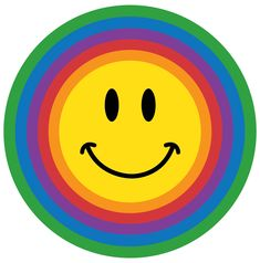 Smiley's don't always have to be yellow, sometimes they get the blues. Don't we all? Sometimes they get red with anger, and sometimes they j...