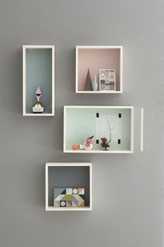 Nordicthink (like this, we can display our little cuties in little one's room)