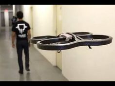 I want a pet drone! Drone Technology, Futuristic Technology, Technology Design, Science And Technology, Drones, Drone Quadcopter, Parrot Ar Drone, Must Have Gadgets, Geek Gadgets