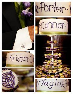 Blended Family Acrylic Wedding Cake Topper