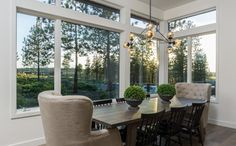 Meeks Trail Residence - Transitional - Dining Room - portland - by Brandon Olin Architect   Olin Architecture LLC