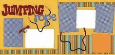 Jumping Rope Page Kit