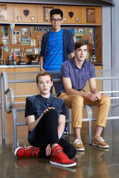 aww the couple then winston. dont really like the haircut | degrassi |