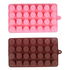 1pcs 28 even Emoji Expression Silicone Chocolate Molds Smiling Face Shape Cake Decorating Tool Cookies. Click visit to check price #Bakeware