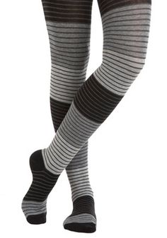 Shades of Graphite Tights, #ModCloth