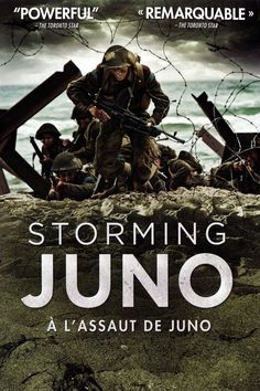 Find more movies like Storming Juno to watch, Latest Storming Juno Trailer, Docudrama retelling the Canadian assault of Juno Beach on D-Day, as told via reenactment and through interviews with those who were there. Canadian Soldiers, Juno Beach, Good Movies To Watch, Real Movies, War Film, D Day, Military History, Hd 1080p, Alter