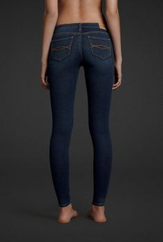 A&F Jeggings. Love mine!! Mine are from Walmart and spandexy and they look so good on me!! Them slender legs :D